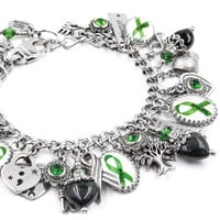 Mental Health Awareness Charm Bracelet
