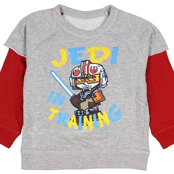 Mad Engine Star Wars Baby Boys Jedi In Training Reversible Long Sleeve Shirt