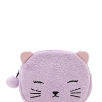 Plush Cat Makeup Bag