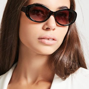 Small Oval Sunglasses