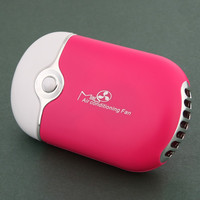 USB Mini Cooler Air Fan Portable Hand Held Air Conditioner Cooler Fan