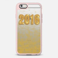 Glitter and Gold in 2016 iPhone 6s case by Love Lunch Liftoff | Casetify