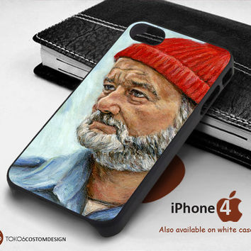 Steve Zissou Art for iPhone 4/4S, iPhone 5/5S, iPhone 6, iPod 4, iPod 5, Samsung Galaxy Note 3, Galaxy Note 4, Galaxy S3, Galaxy S4, Galaxy S5, Galaxy S6, Phone Case