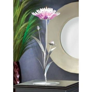 Pink Lotus Tealight Candle Holder