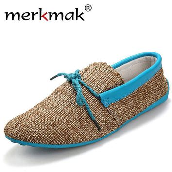 hot-sale-men-shoes-spring-summer-breathable-fashion-weaving-woven-men-casual-flat-shoe number 1