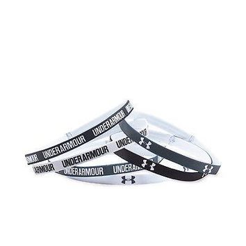 Under Armour Women's UA Mini Graphic Headbands - 6 Pack of Mini Headbands