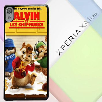 Alvin And The Chipmunks Y0710 Sony Xperia XA1 Ultra Case