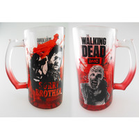 The Walking Dead Sorry Bro Beer Mug