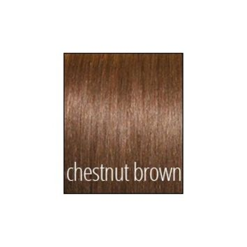 Princess Deluxe Hair - Chestnut Brown - Color 6 - Luxury For Princess - Clip-In Hair Extensions