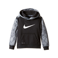 Nike Kids Swoosh Therma Pullover Hoodie (Toddler) Black - Zappos.com Free Shipping BOTH Ways