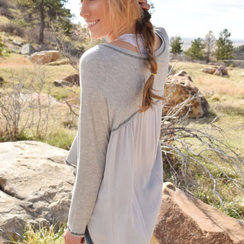 By My Side Long Sleeve Tunic
