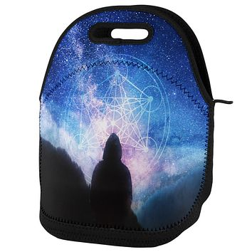 La Fin du Monde Metatron's Cube Lunch Tote Bag