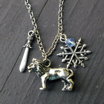 Narnia, The Lion, The Witch, and The Wardrobe Necklace