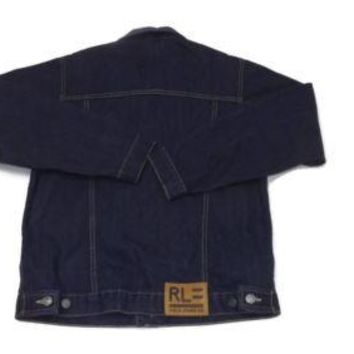 Polo Ralph Lauren Pre Teen Boys XL Size 20  Dark Denim Jean Jacket