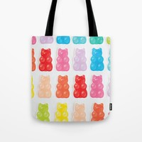 Gummy Bears Tote Bag by allisone