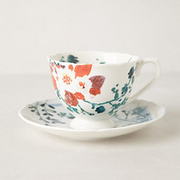 Avian Canopy Cup & Saucer