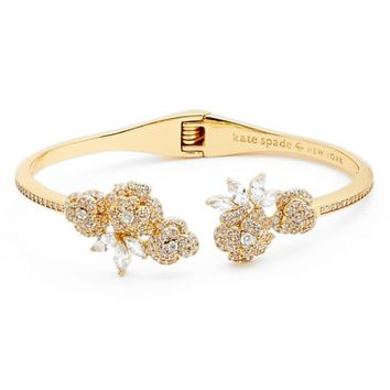 kate spade new york that special sparkle open hinge cuff | Nordstrom