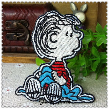 Snoopy's friend Linus Iron on Patch 468-H