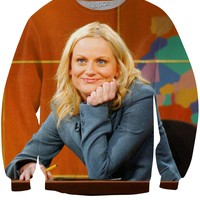 Amy Poehler Weekend Update Crewneck Sweatshirt