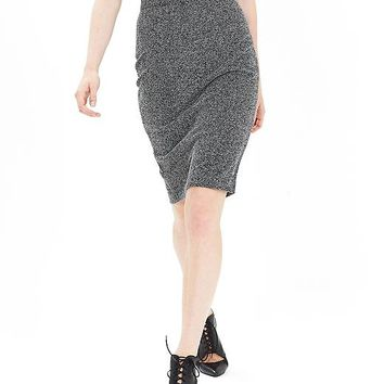 Banana Republic Womens Herringbone Pencil Skirt
