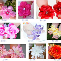 BABY Sandals baby Barefoot Sandals Foot Flower Foot Ties baby Toddler flower Shoes 10 pairs = 20 pcs.