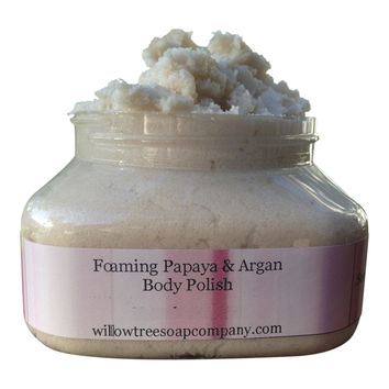 Papaya + Argan Body Polish