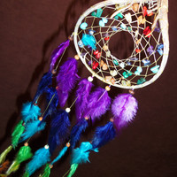 Custom Dream Catcher Chakra Love Devils Claw Dream by MoonMotions