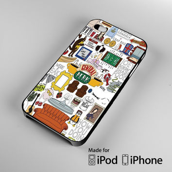 Friends TV Show iPhone 4 4S 5 5S 5C 6, iPod Touch 4 5 Cases