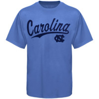 North Carolina Tar Heels :UNC: Script One T-Shirt - Carolina Blue