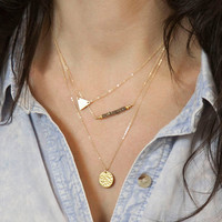 New fashion necklace,alloy necklace