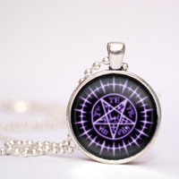 Black Butler Sebastian Seal pendent necklace