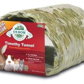 Oxbow Timothy Hay CLUB Small Pet Tunnel
