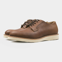 Red Wing 3104 Heritage Work Postman Oxford Amber Harness
