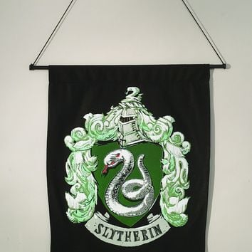 Harry Potter Slytherin Wall Banner
