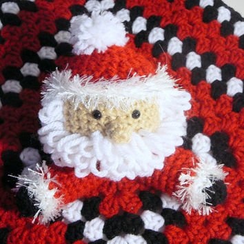 Santa Lovey PDF Crochet Pattern INSTANT DOWNLOAD