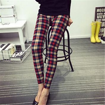 Fashion Polyester Printed Leggings