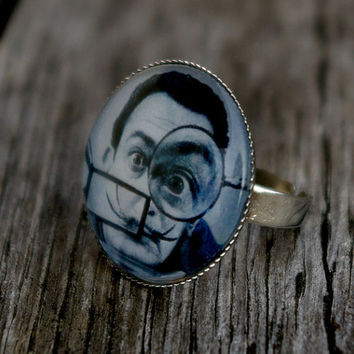 Salvador Dali - adjustable ring