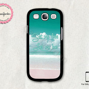 Ocean Beach Samsung Galaxy S3 Case, Samsung Galaxy SIII Case, Samsung Galaxy S3 Cover, Hard Protective Case