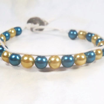 Beaded Wrap bracelet Bangle Bracelet