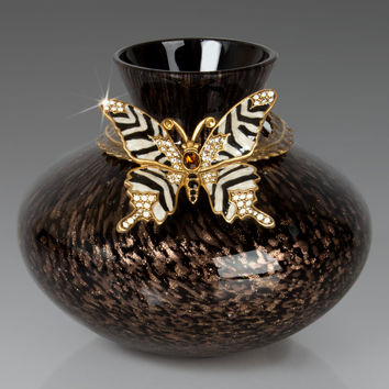 Butterfly Vase - Jay Strongwater