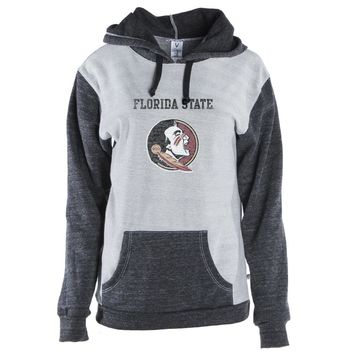 Official NCAA Florida State Noles Unisex Color Block Kangaroo Pullover Hoodie