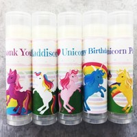 Unicorn Custom Lip Balm – Free Customization