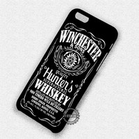 Winchester Whiskey Supernatural - iPhone 7 6 Plus 5c 5s SE Cases & Covers