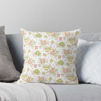 'Untitled' Throw Pillow by miavaldez
