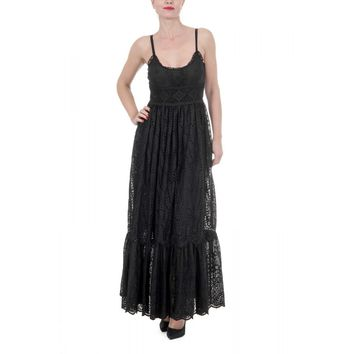 Valentino Black Maxi Dress