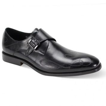 Leather Monkstrap Shoe by Steven Land