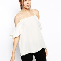 ASOS Cold Shoulder Cami at asos.com