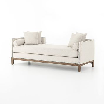 GOCCIA DOUBLE CHAISE - NOBLE PLATINUM