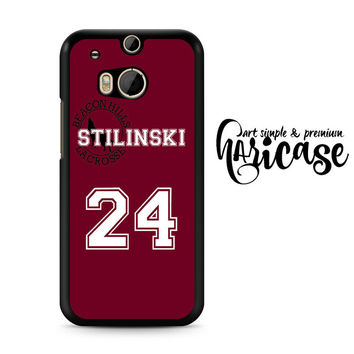 Teen Wolf Inspired Stiles Stilinski Jersey HTC One M8 | M9 Case