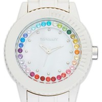 SPROUT Watches Crystal Bezel Bracelet Watch, 45mm